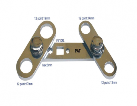 4 IN 1 MULTI-COMBINATION WRENCH