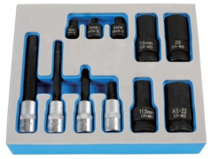 11 PCS BRAKE CALIPER TOOL SET