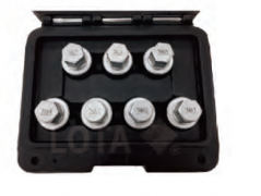 7PC WHEEL LOCLING NUT FOR VAUXHALL-D