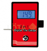 LCD DIGITAL TIRE PRESSURE 2-IN-1 TREAD DEPTH GAUGE