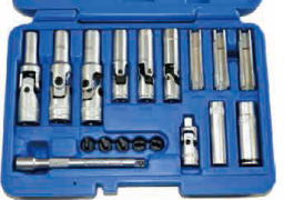 18 PCS SPECIAL THIN GLOW PLUG REMOVAL SOCKET SET