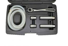 Brake caliper bleeding tool set