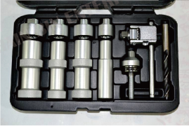 UNIVERSAL RATCHETING PUNCH PERFECT HOLES INTO BUMPERS - WITHOUT BIG EFFORT.