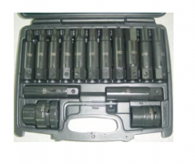 "3/4""DR. AND 1"" DR. IMPACT BITS AND E SOCKETS SET"