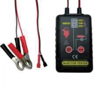 INJECTOR TESTER POWER SOURCE: 12V VEHICLE BATTERY