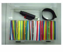 162 PCS HEAT SHRINK TUBE /TOOLS KIT