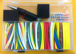 174 PCS HEAT SHRINK TUBE /TOOLS KIT