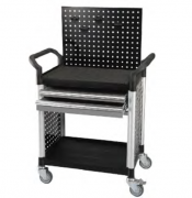 STANDARD 2 SHELVES TOOL TROLLEY
