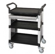 STANDARD 3 SHELVES TOOL TROLLEY