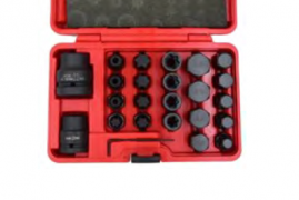 "24PCS 3/4"" & 1""BIT SOCKET SET"