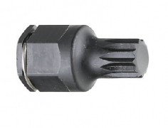"1/4"" Drive, Spline(XZN) Stubby Impact Bit Socket"