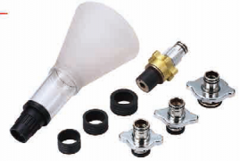 8-PC COOLANT REFILLING FUNNEL SET