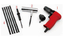 PNEUMATIC TIRE REPAIR KIT 4PCS SET