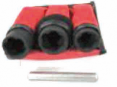 "LUG NUT TWIST REMOVAL SOCKET SET, ½"" DR.,4-PC."