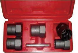 "½"" LUG NUT REMOVAL SOCKET SET, 6-PC"