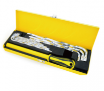 TWISTED HEX KEY SET & EXTENSION LEVER