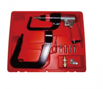 "AIR SPOT DRILL WITH 2"" & 5.5"" HOOK KITS"